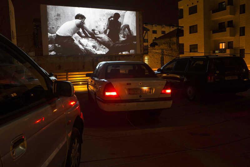 The 5th Riwaq Biennale Palestine Presents Cinema Sayyara A Project By Phil Collins