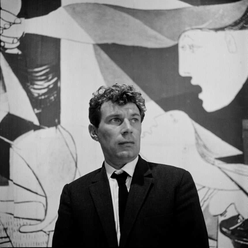 John Berger, whose 1972 series Ways of Seeing uncovered the political and social systems that shape art. Photograph: Jeremy Grayson/BBC
