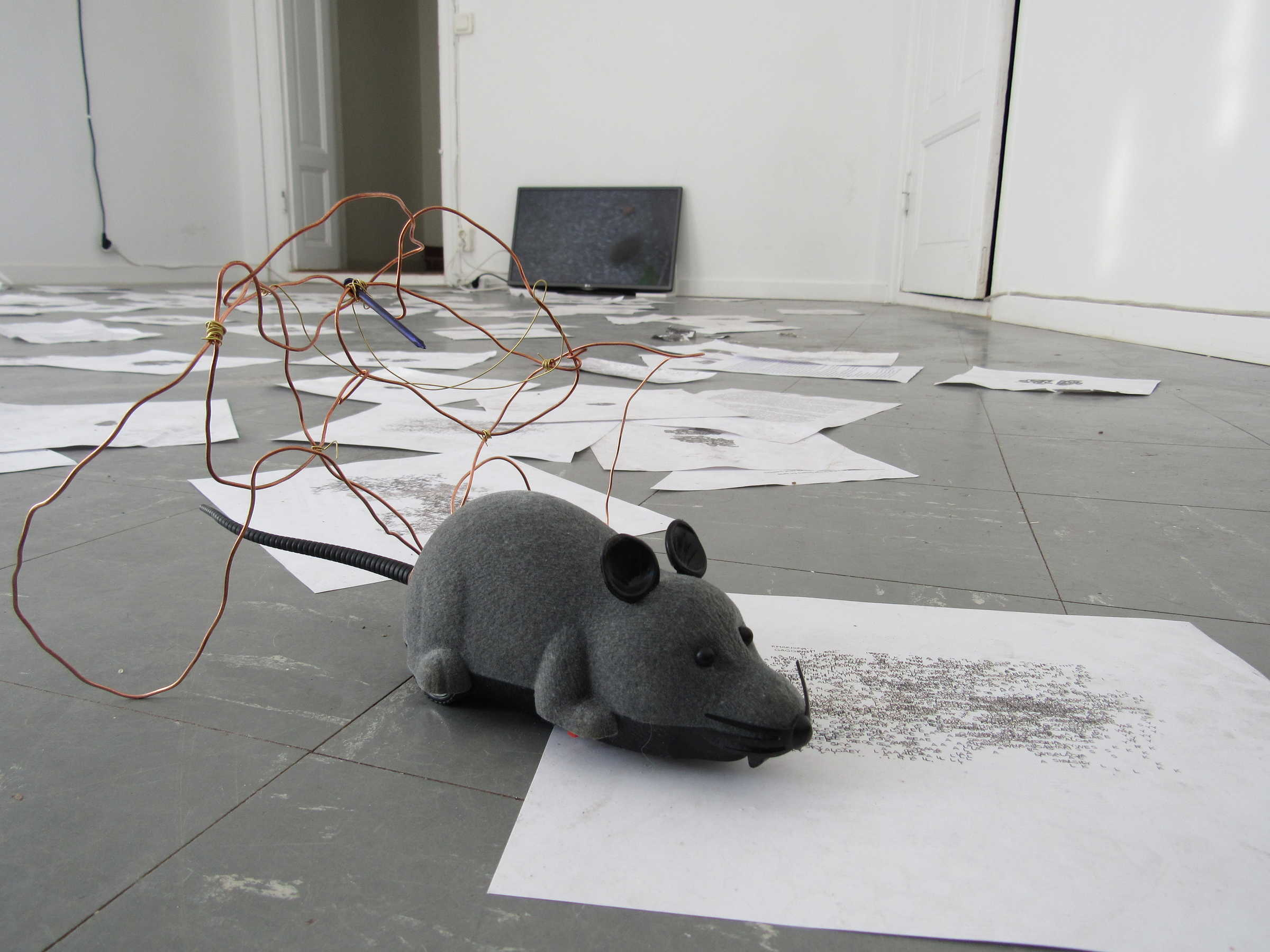 Mandus Ridefelt: The Return of the Lab Mouse. Delfi (Malmö), 2018
