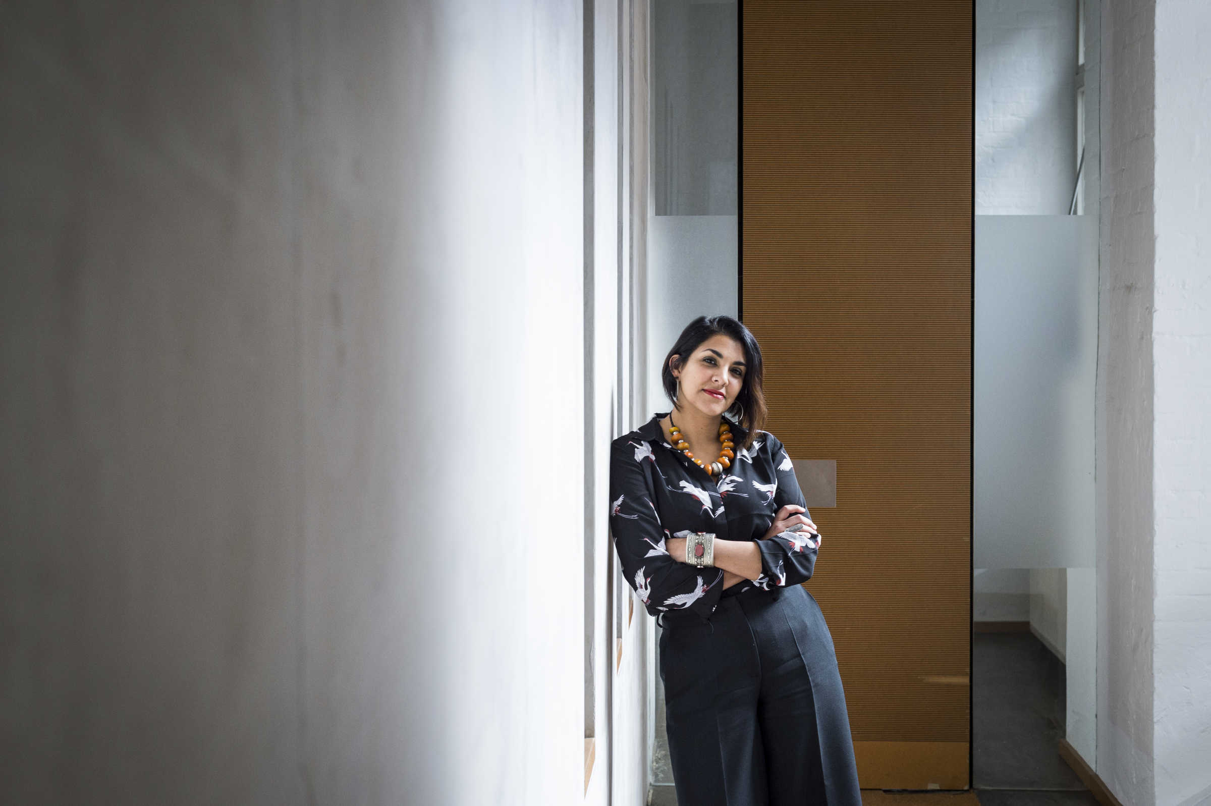Heba Y. Amin. Photo credits: Sebastian Böttcher.