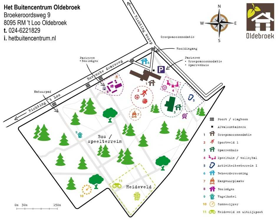Plattegrond Buitencentrum oldebroek