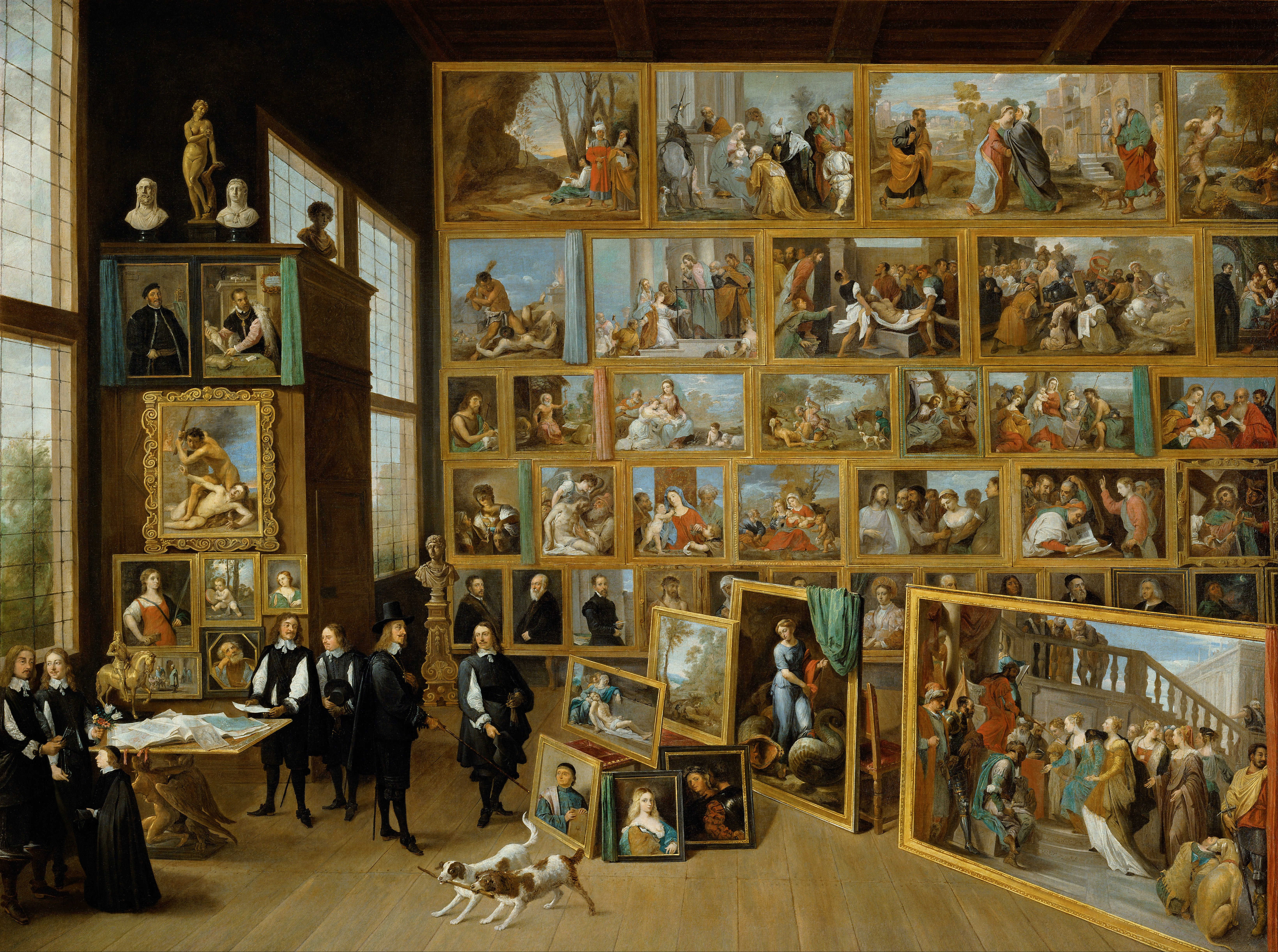 David Teniers Younger. The Art Collection of Archduke Leopold Wilhelm in Brussels, 1651