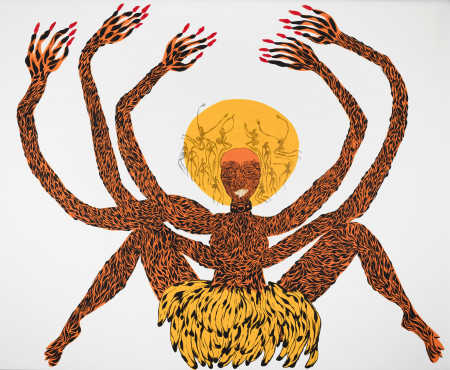 KHOISAN KWEEN MOTHER, Lady Skollie, 2017. Courtesy of the artist.