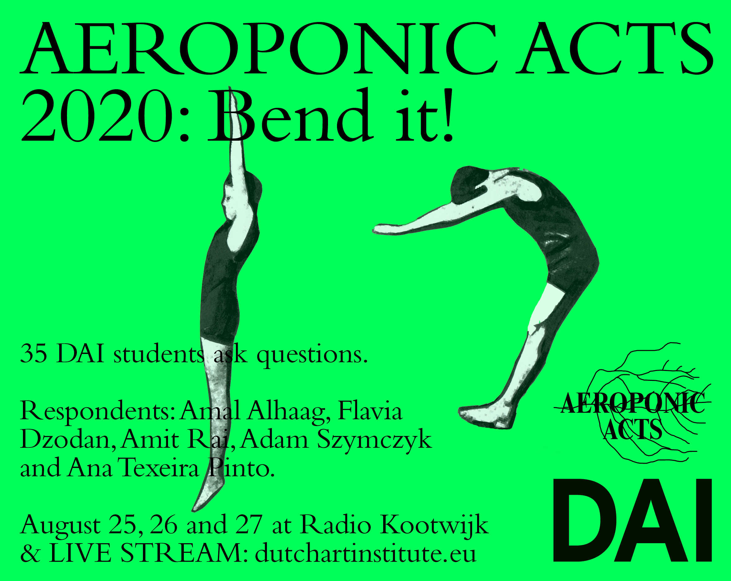 AEROPONIC ACTS 2020 Bend it!