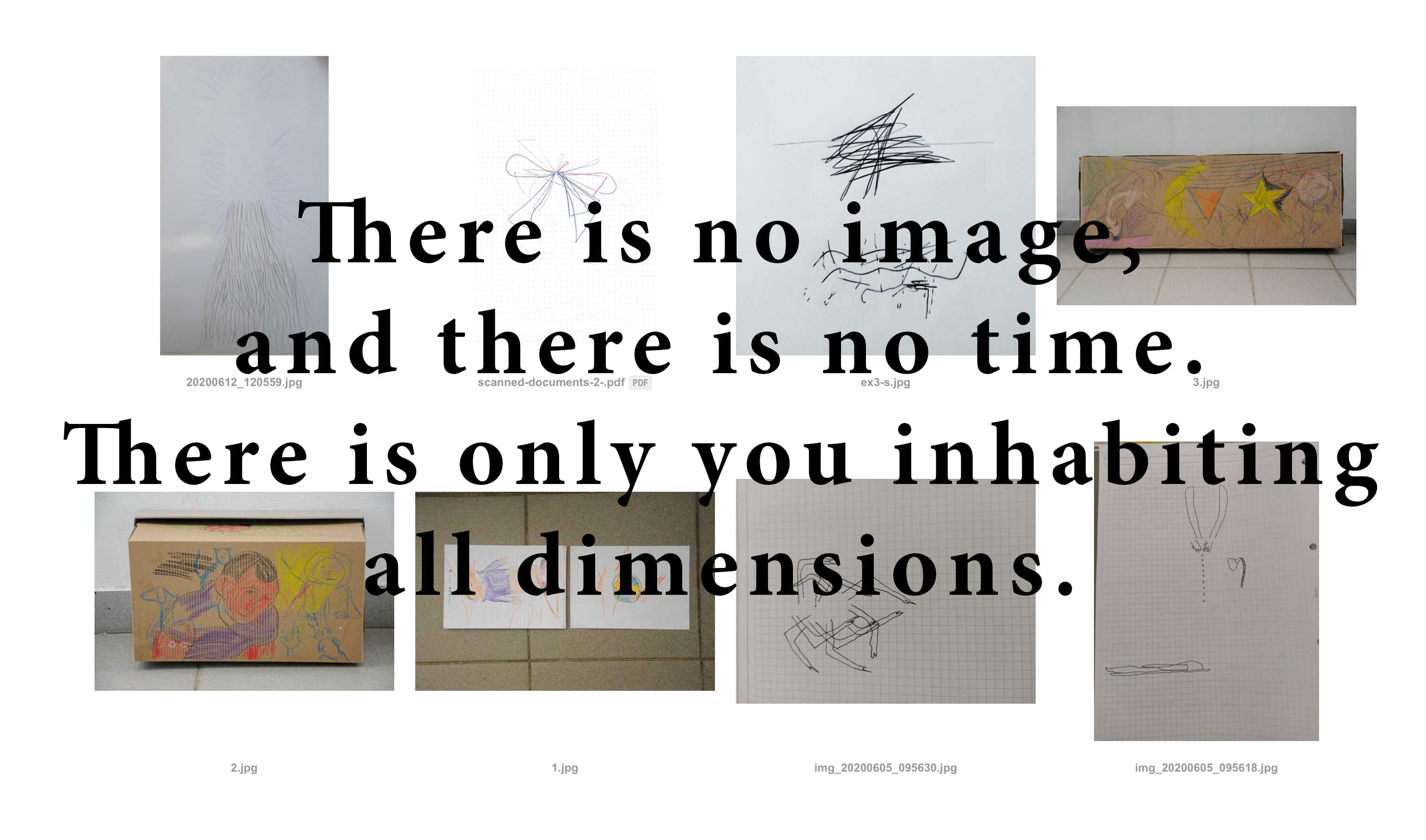 COOP SUMMIT 2020: There is no image, and there is no time. There is only you inhabiting all dimensions